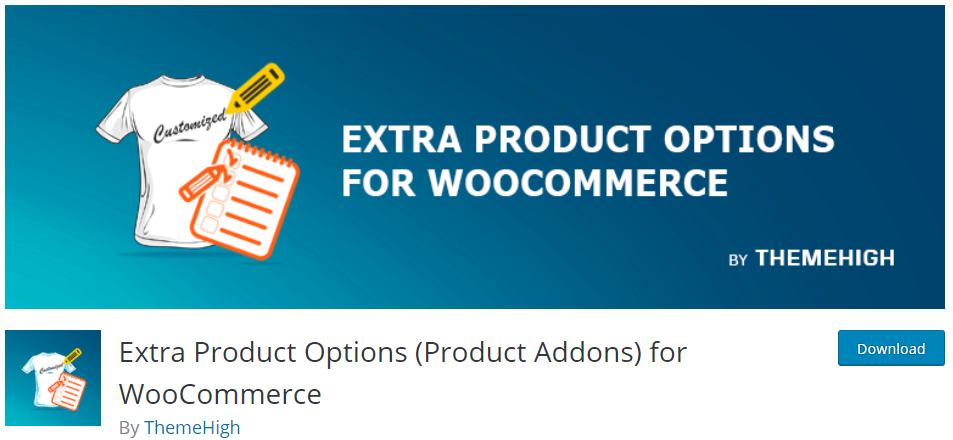 Extras Product