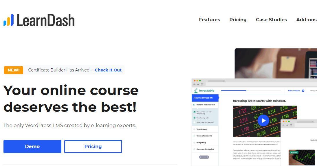 best LMS WordPress plugin