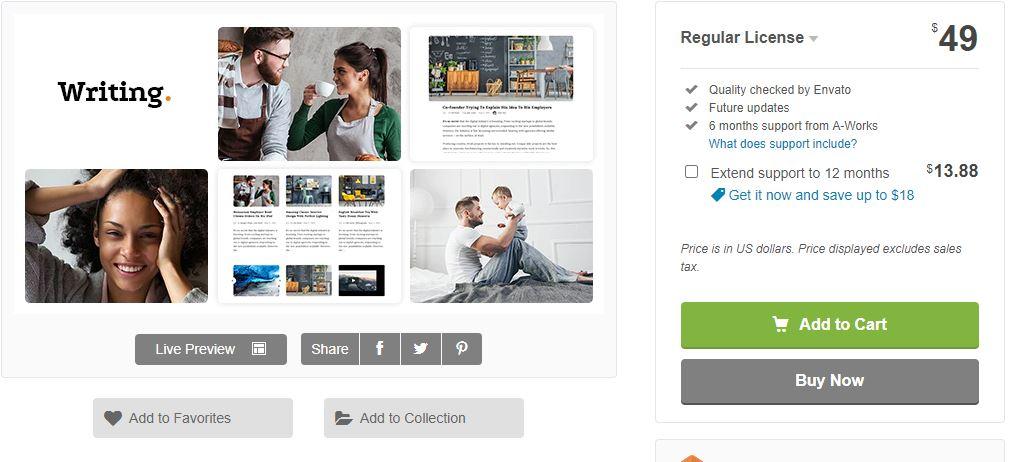 WordPress Premium Magazine theme