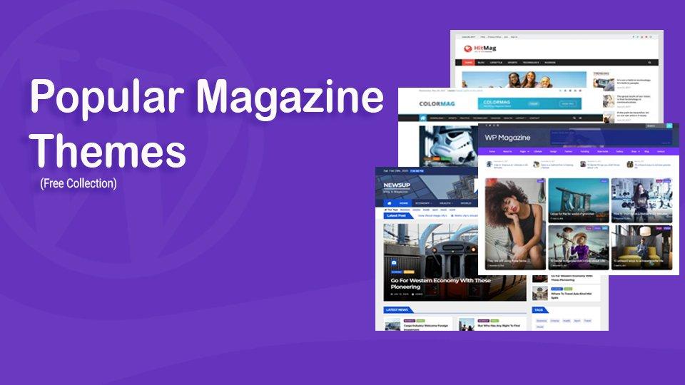 Popular Magazine Themes
