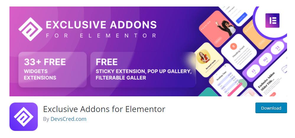 Exclusive Addons